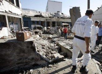 photo témoignant de la violance de l'explosion