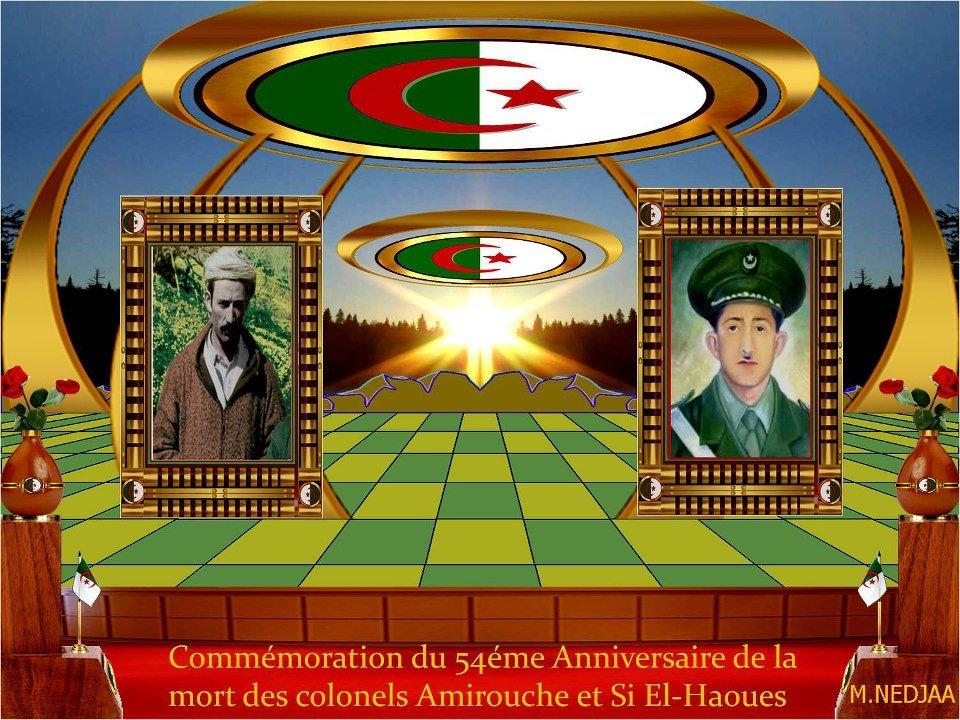 Commémoration du 54ème anniversaire de la mort des colonels  AMIROUCHE et SI EL HAOUES dans Commemoration 549872_171694586314226_1044088543_n