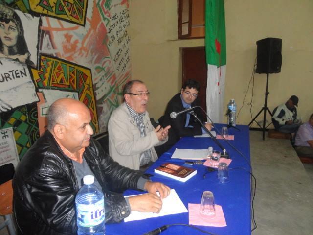 Compte rendu de la conférence-débats animée par Nordine AIT HAMOUDA à Azazga sous le thème « 1er Novembre, ESPOIR ET TRAHISON »  dans Commemoration 5