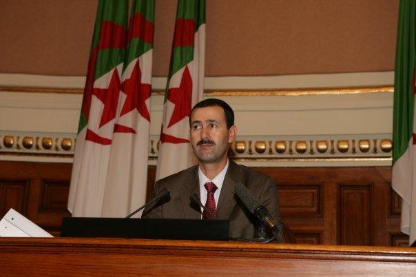 Dr Rachid Arabi,  membre du Conseil National et ancien sénateur RCD.