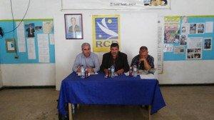 Conférence de presse du maire d'Aghribs